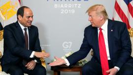 """Trump, Sisi'den """"en favori diktatörüm"""" diye bahsetmiş"""