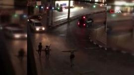 "İsrail askerleri Kudüs""te 46 Filistinliyi yaraladı"