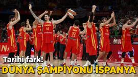 İspanya, 2019 Dünya Kupası'nda şampiyon oldu!