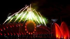 Moskova Işık Çemberi Festivali'ne görkemli açılış