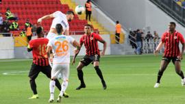 Lider Alanyaspor'a Gençlerbirliği freni