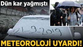 Meteoroloji'den 4 il için sağanak yağış uyarısı