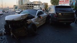 E-5'te alkollü sürücü dehşeti