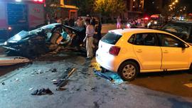 Antalya'da korkunç kaza: 2 ölü 6 yaralı