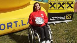 Paralimpik tenisçi Büşra Ün çiftlerde şampiyon