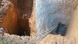 Çanakkale'de 40 metrelik çukur