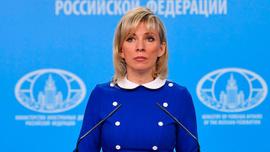 Trump'ın skandal mektubu Zaharova'ya soruldu