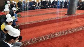 Mehmetçiğe dua için sabah namazında buluştular