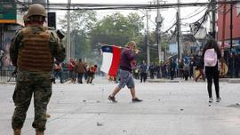 Şili Devlet Başkanı Pinera'dan halka 'sükunet' çağrısı