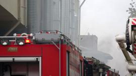 Sancaktepe'de korkutan yangın