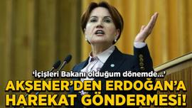 Akşener'den Erdoğan'a harekât göndermesi