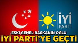 SP'nin eski lideri Mustafa Kamalak'ın oğlu İYİ Parti'ye geçti
