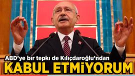 Kılıçdaroğlu'ndan ABD'ye Ermeni tasarısı tepkisi: Bunu kabul etmiyorum