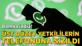 WhatsApp üzerinden üst düzey yetkililerin telefonuna sızma iddiası!