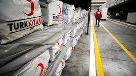 Türkiye'den 'Suriye'deki sivil halka' 100 bin ton un yardımı
