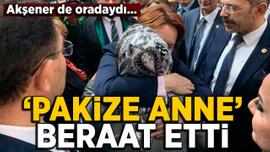 Cumhurbaşkanı Erdoğan'a hakaretten yargılanan 'Pakize Anne'ye beraat