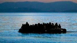 Ege'de mültecileri taşıyan bot battı: 1 mülteci kayıp
