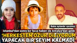 Antalya'da 4 kişilik aile ölü bulundu... Siyanür şüphesi!