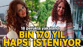 "18 perukla yakalanan ""Ponzi Arzu"" vatandaşı 20 milyon lira dolandırmış"