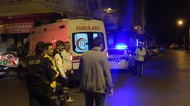 Alkollü sürücülerin satırlı ve demir çubuklu kavgasına polisten