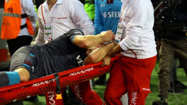Trabzonspor'dan Alexander Sörloth'ten iyi haber