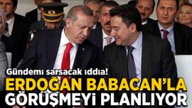 Gündemi sarsacak iddia! Erdoğan, Babacan'la görüşmeyi planlıyor