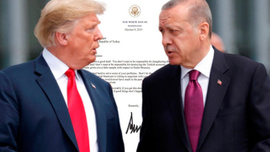 Trump'ın Cumhurbaşkanı Erdoğan'a ikinci mektup gönderdiği iddia edildi
