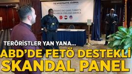 ABD'de FETÖ destekli skandal panel