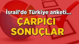 İsrail'de Türkiye anketi! Çarpıcı sonuçlar
