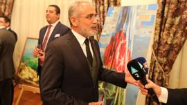 Yalçın Topçu Azerbaycan devlet bayrağı günü kutlamasına katıldı