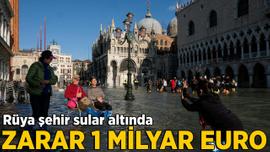 Venedik'te zarar 1 milyar euro
