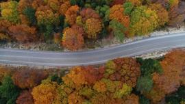 Uludağ'dan muhteşem sonbahar manzaraları