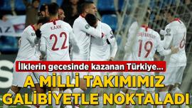 Türkiye EURO 2020'ye galibiyetle gidiyor