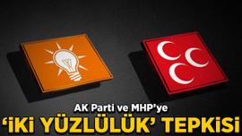 Fahrettin Yokuş'tan AK Parti ve MHP'ye 'iki yüzlülük' tepkisi