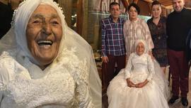 85 yaşında hayalini gerçekleştirdi