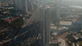 Kartal'da 26 katlı binada yangın