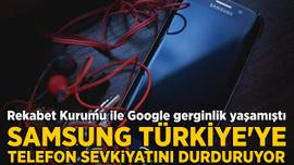 Şok iddia: Samsung Türkiye'ye telefon sevkiyatını durduruyor