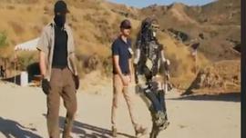 Amerikalıların ürettiği asker robot