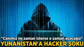Yunanistan'a hacker şoku!