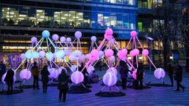 Londra'da kış Işıkları Festivali