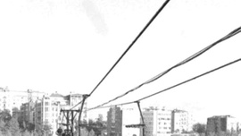 İstanbul'un nadide semtinde telesiyej keyfi! 60 yıl önce çekildi