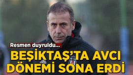 Beşiktaş, teknik direktör Abdullah Avcı ile yollarını ayırdı