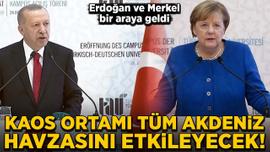 Erdoğan: Sükûnet sağlanmazsa olaylar tüm Akdeniz havzasını etkileyecek