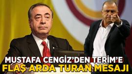Mustafa Cengiz'den Terim'e flaş Arda Turan mesajı