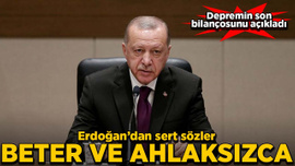 Erdoğan'dan Elazığ depremiyle ilgili açıklama