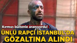 Ünlü rapçi İstanbul'da gözaltına alındı