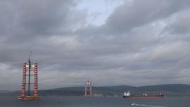 1915 Çanakkale Köprüsü ayakları 143 metreye ulaştı