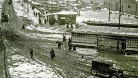 İşte İstanbul'un tarihi kar manzaraları...