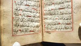 Tam 900 yıllık Kur'an-ı Kerim! Ceylan derisi ile ciltlenmiş