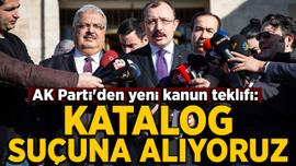 AK Parti'den yeni kanun teklifi açıklaması